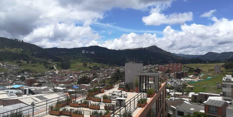 vista desde terraza 605